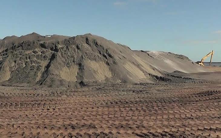Empresa chinesa arrecadou mais de 24 milhões USD em areias pesadas